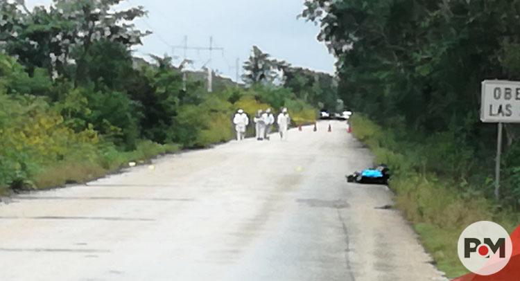 Hayan cuerpo de una mujer sin vida en carretera Maxcanú-Halachó