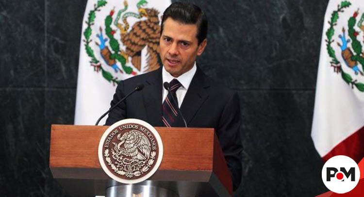 Peña Nieto y ministros, afectados por fuerte irritación ocular tras evento