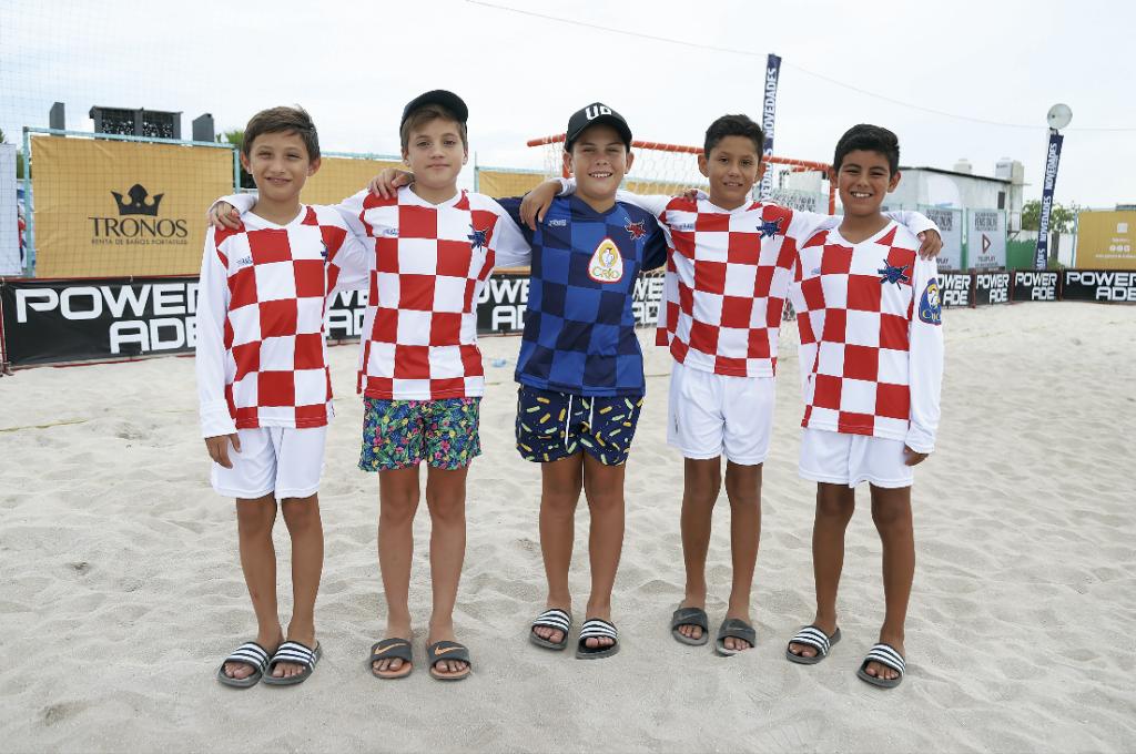 Ariel Manzanilla, Nicolás Arcila, Manuel Mendiburu, Patricio Alcocer y Rodrigo Castro