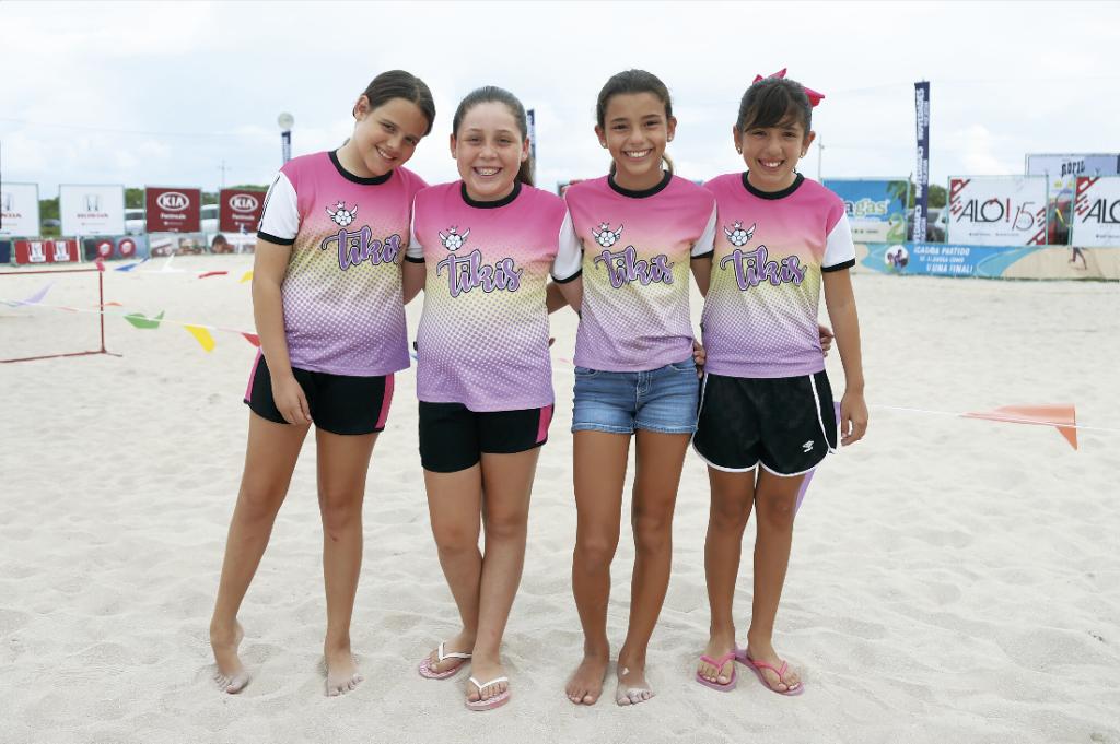 Alejandrina Castellanos, Regina García, Alexandra Cervera y Katy Martínez