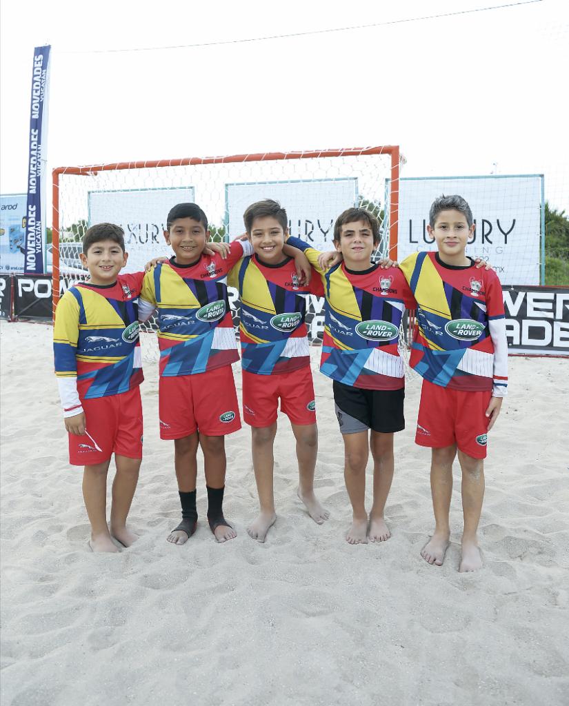 Carlos Murillo, Luis A. Estrada, Emilio Cabrera, Esteban Gorocica y Marco Curkovic