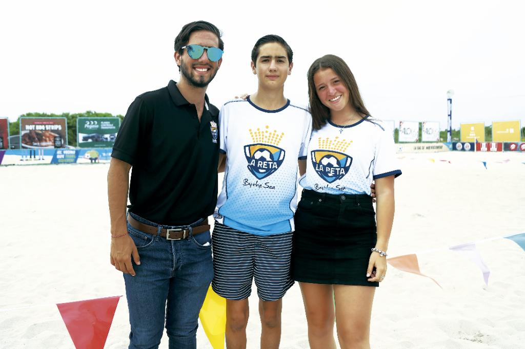 Alejandro Martínez, Rodrigo Cejudo y Regina Lezama
