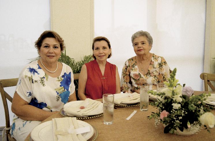 Cecilia Castillo de Zavala, Zoila María Alayola Rodríguez y Elsie del Carmen Ortega Mena