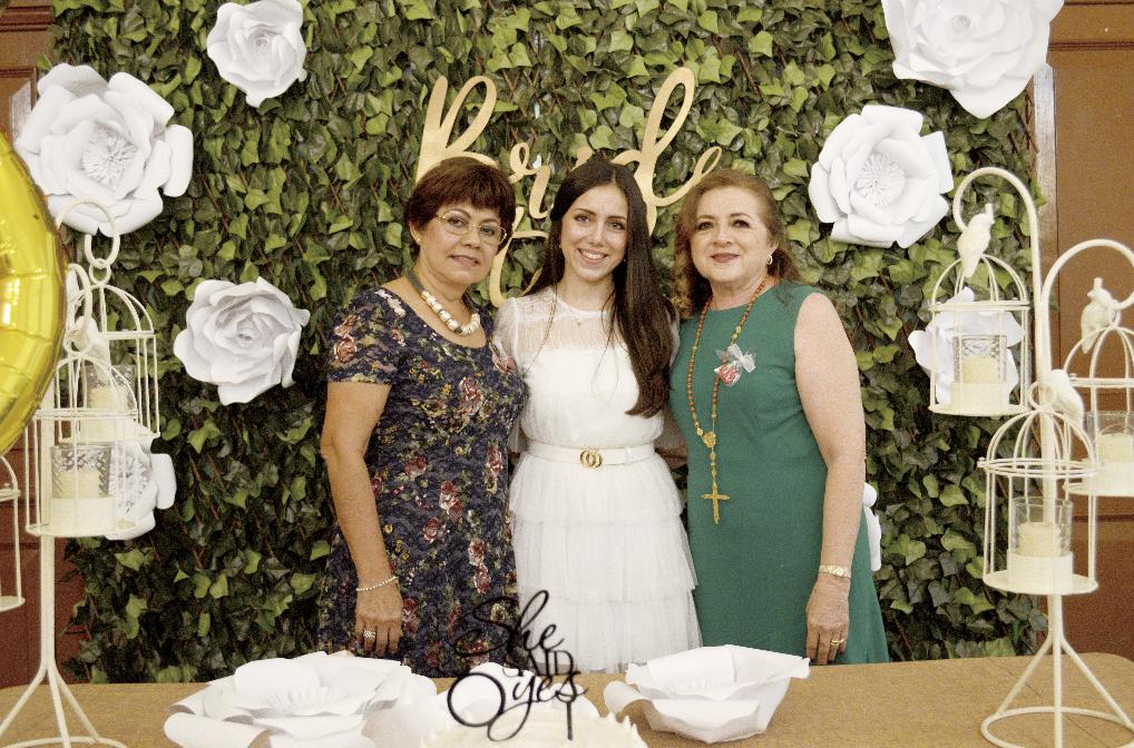 Maria Amina Arévalo Ochoa, Hilda María Conde Salomón e Hilda Esther Salomón Barbosa