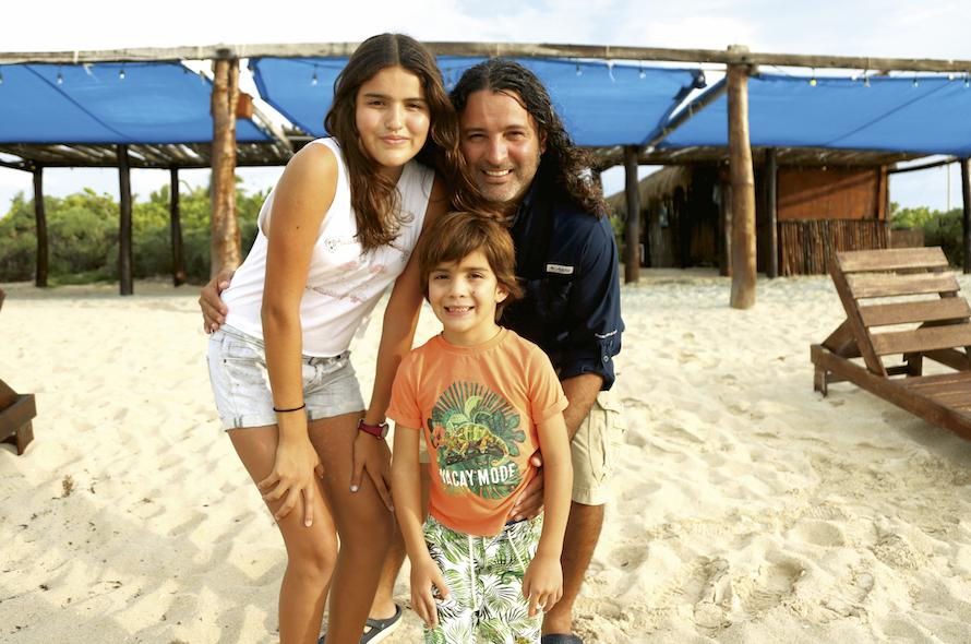 Oliva Baeza Ramírez, Ricardo Baeza Correa y Luis Mario Baeza Ramírez