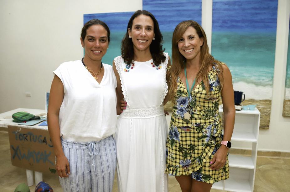 Beatriz Rosado Arrigunaga, Alejandra De Yturbe García y Rosalía Ortiz Erosa