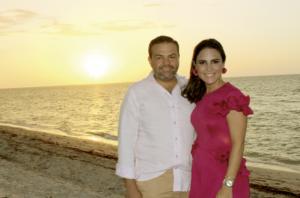 Alberto Buenfil y Regina Castellanos