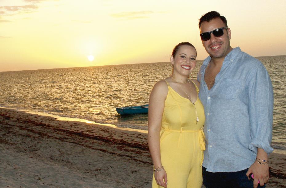 Nicole Goldberg y Jacobo Herrera