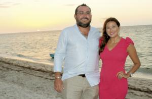 José Salazar de Cantón y Norma Castilla Irabién de Salazar