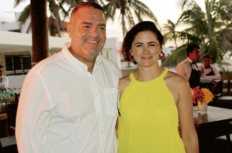 Alberto Berrón Bolio y Cecilia Hadad Tello