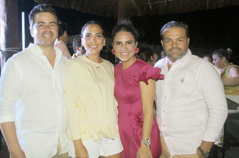 Mauricio López Pinto, Jimena Cervera, Regina Castellanos de Buenfil y Alberto Buenfil
