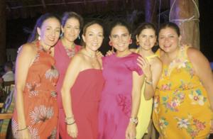 Paulina Gutiérrez, María del Mar Rodriguez de Zahoul, Layda Budip, Regina Castellanos de Buenfil, Cecilia Hadad Tello y Paulina Escalante Alpizar