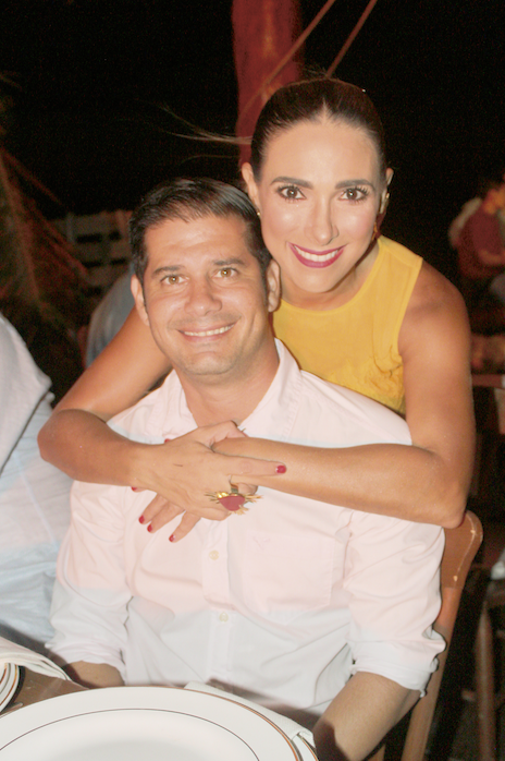 Daniel González e Ivonne Lasses