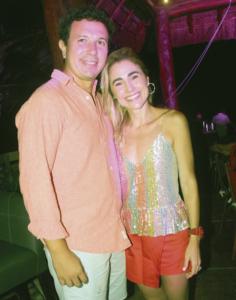 Roberto Carrillo y María José Lizárraga
