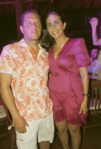 Rodrigo Mendez y Patricia Marín