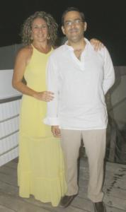 Paola Martínez y Miguel Ángel Domínguez