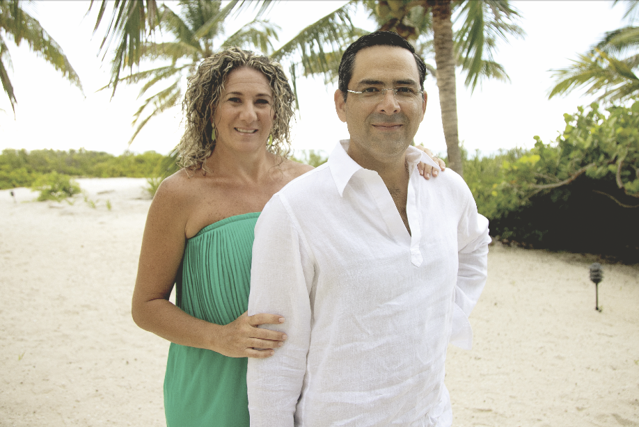 Paola Martínez de Domínguez y Miguel Ángel Domínguez Arellano