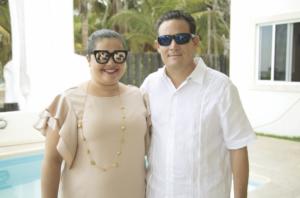 Thelma Villamil y Jorge Pino Gamboa