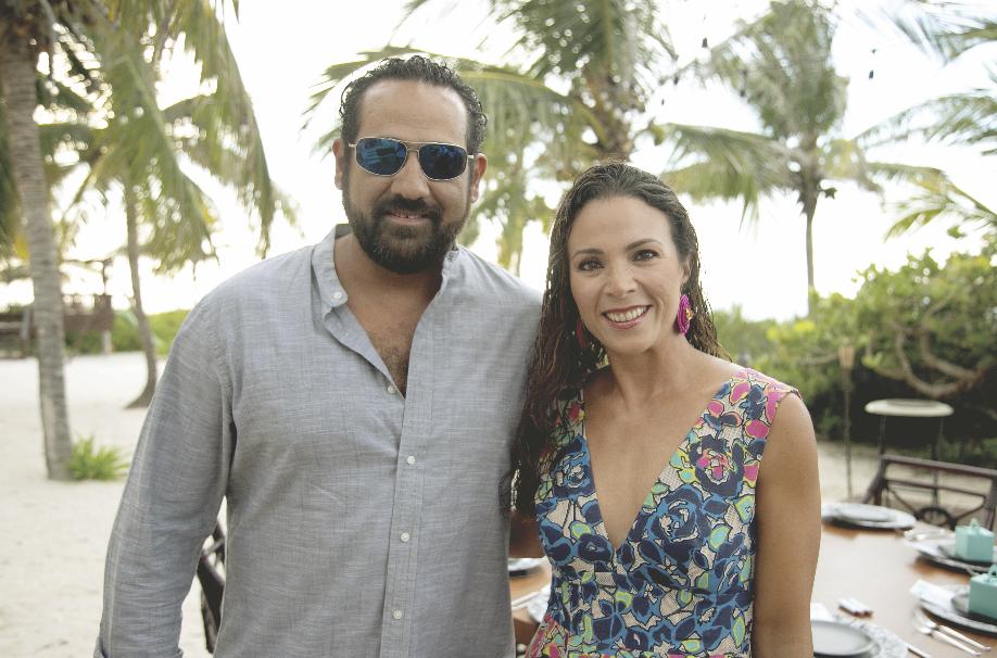 Efraín Lugo y Jimena Díaz