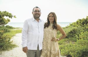 José salazar G. Cantón y Norma Castilla Irabién