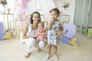 Paola Zalce con María Castillo y Julia Castillo