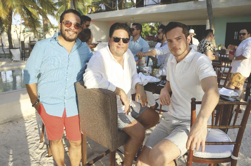 Saúl Ancona Salazar, Fernando Guasch Madahuar y Sergio Portillo Gómez