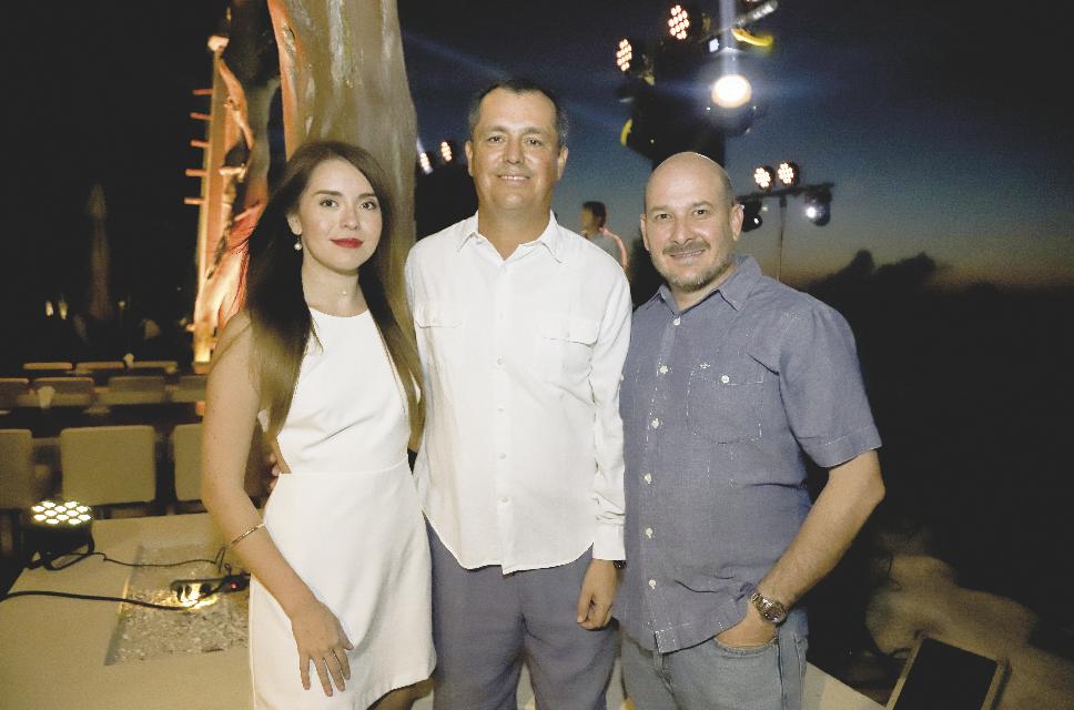Natalia Sofía Moguel Márquez, Enrique Moguel y Kurt Bauer