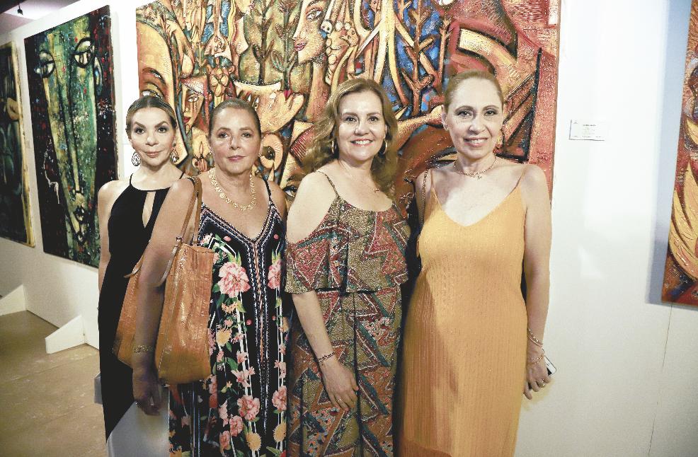 Gabriela Canto Barragán, Chechy Díaz Millet, Delsy Cejudo Valencia y Micheline Manzón de Rotter