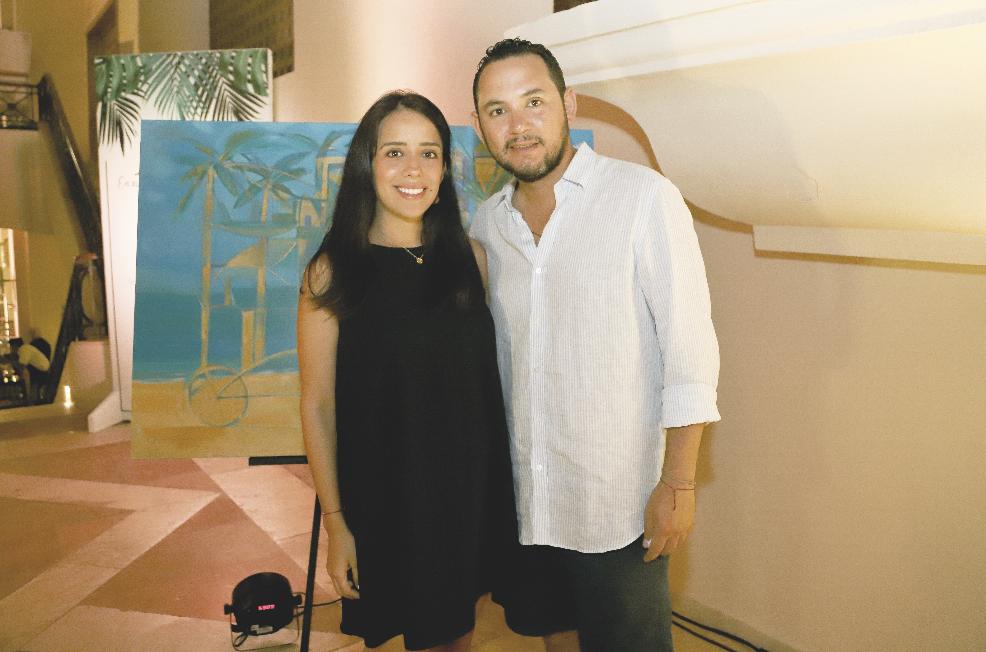 Rashel Luna Maldonado y Jorge Sobrino