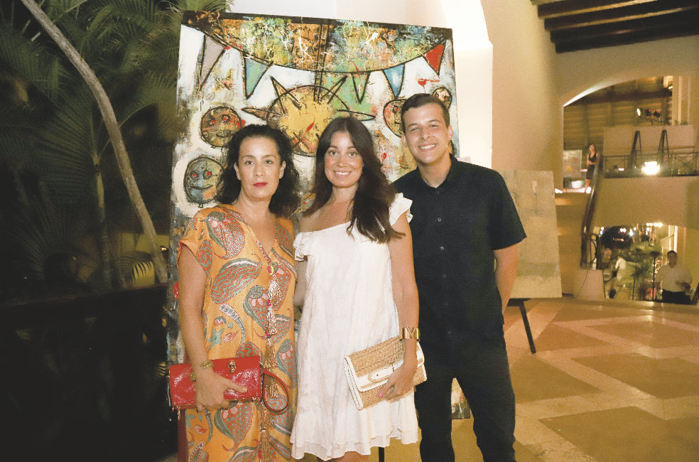 Maricela Baigts, Karla Pinkus y José Ochoa