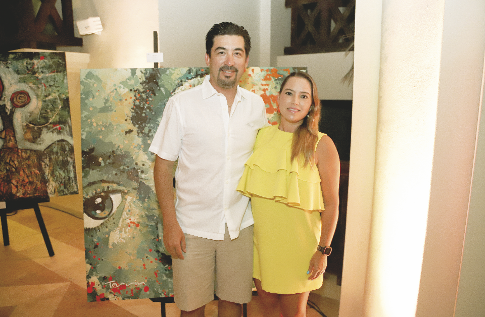 Fernando Sauri Campos y Karla Gutiérrez Combaluzier