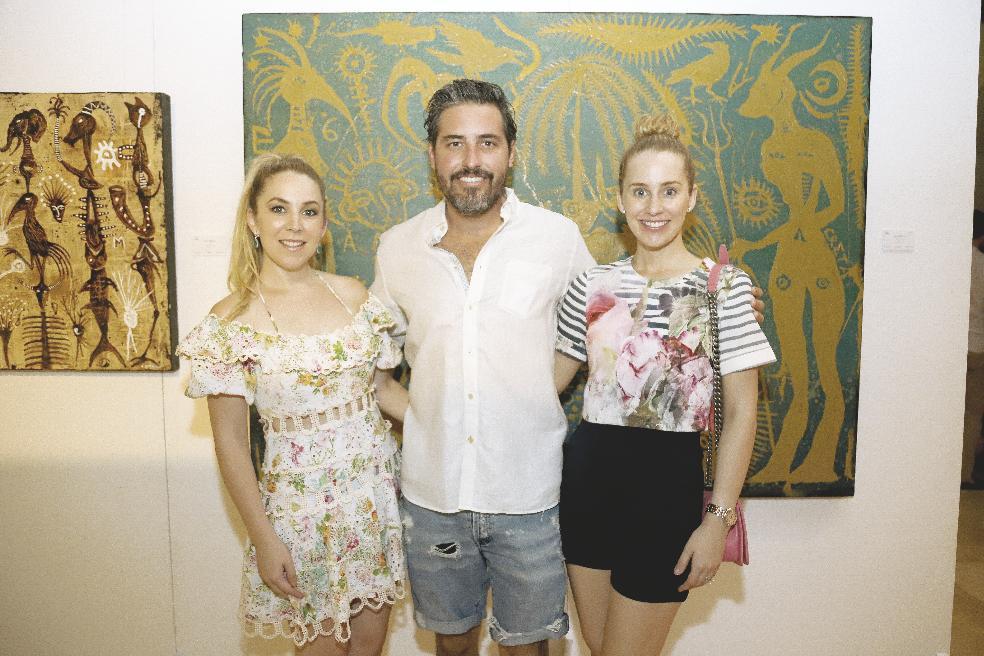 Samantha Rodríguez, Gerardo Medina Díaz y Michelle Rodríguez