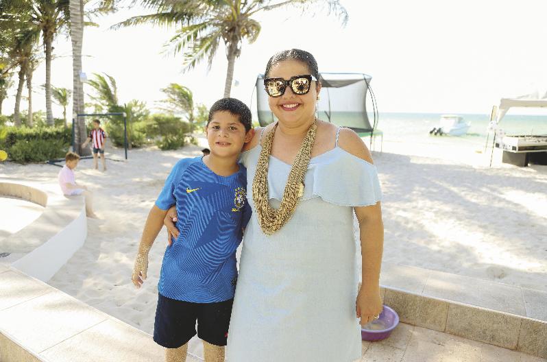 Mauricio Pino y Thelma Villamil