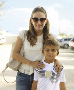 Gabriela Vales con Mauricio Tappan