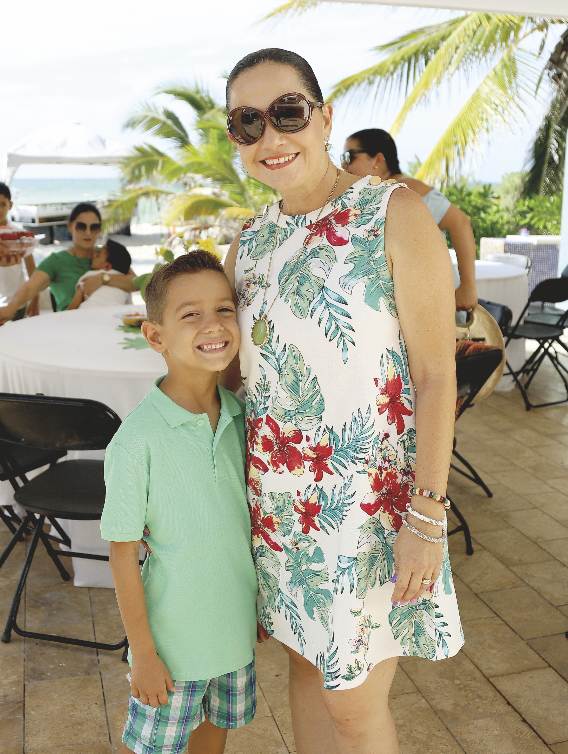 Giovanna Herrera con Ricardo Carrillo