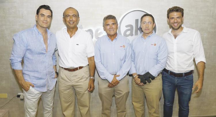 David Zepeda, Sergio Asís Abraham Mafud, Luis Rejón, Alejandro Joubert y Sergio Asís Abraham Rodríguez.