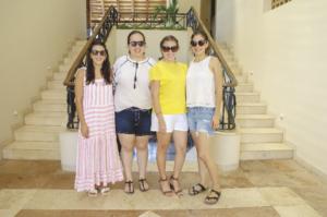 Mariana Flores, María Del Mar Preciado, Claudina Villanueva Y Ligia Solís