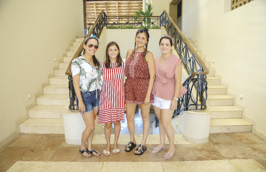 Susana Gutiérrez, Carolina Peón, Andrea Reyes e Ileana Vallado