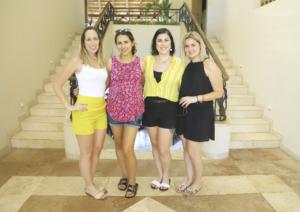 Rossana Millán, Andrea Castillo, Susana Lizarraga y Elisabell Espadas