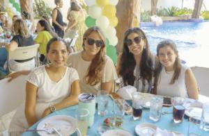 Jimena Cervera Duarte, Cristina Buenfil Castellanos, Patricia Bobadilla y Beatriz Castillo