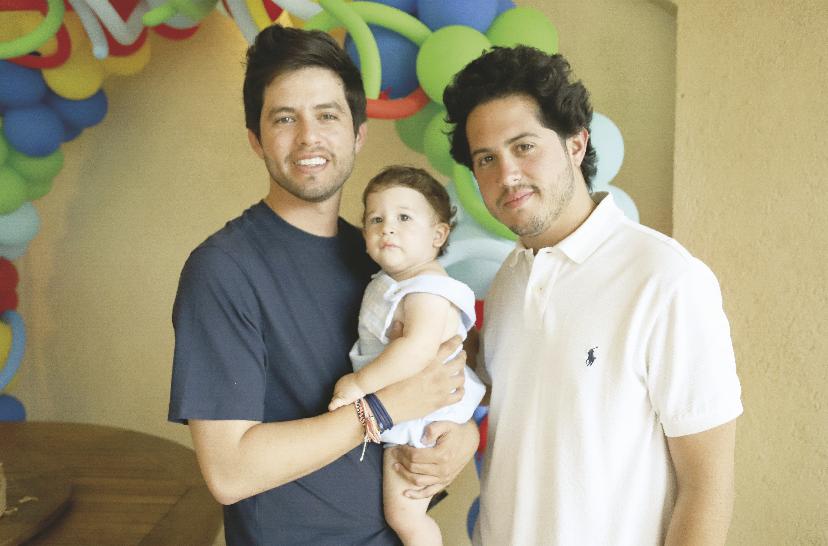 Luis Castillo López, Mariano Duvert Castillo y Juan Pablo Castillo López
