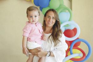 Cristina Buenfil de Germon con Roberto Germon
