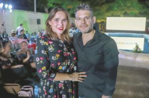 Yaremi Zárate y Wilberth Martínez