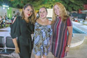 Beatriz Roche, María Romero y Brendy Mejía