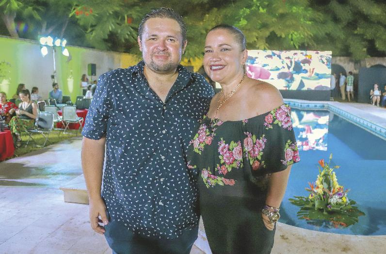 Carlos Zárate y Myrna Parrao