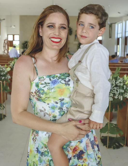 Michelle Alonso con Alberto Gaudiano