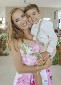 Odette Castillo Patrón con Matías Sosa Castillo
