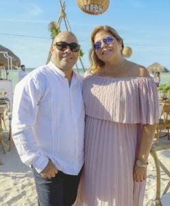 Julio Novelo y Cristina Rubio