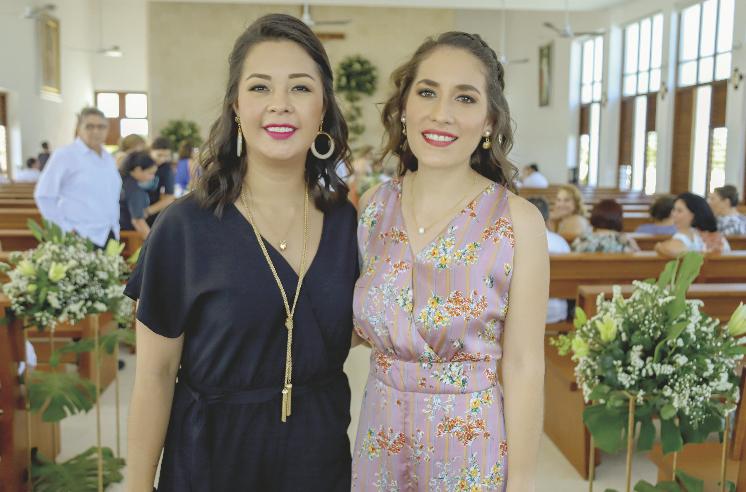 Janeth Álvarez y Chantal Calderón