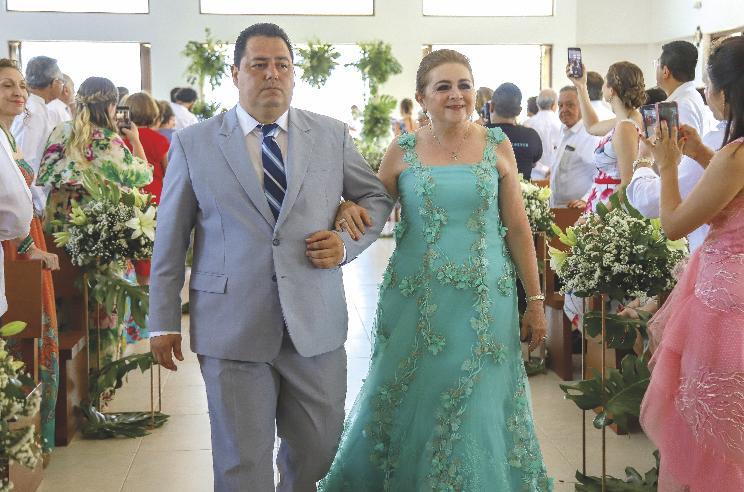 Rogelio Escarpulli Arévalo y Hilda Salomón Barbosa